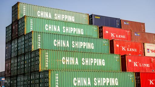Container in China