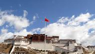 Flaggenzeremonie in Lhasa
