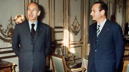 Jacques Chirac mit Präsident Valéry Giscard d'Estaing