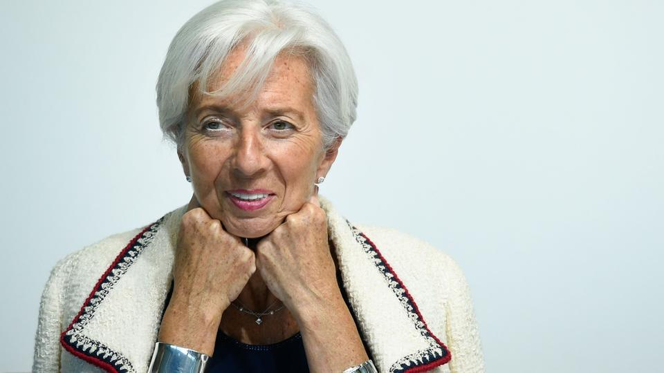 Christine Lagarde  | AFP