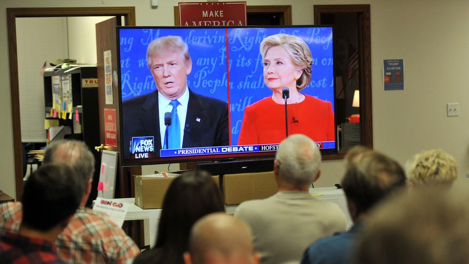 TV Duell Donald Trump Hillary Clinton, September 2016 | Bildquelle: AFP