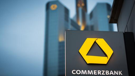 Logo der Commerzbank | picture alliance/dpa