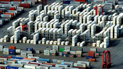 Container in Bremerhaven | null