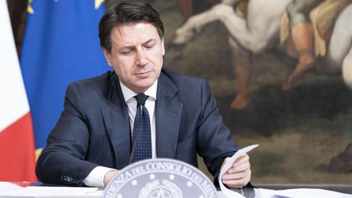 Giuseppe Conte | Bildquelle: Filippo Attili/Press office Pala