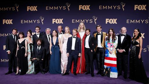 "Crew der Serie ""Game of Thrones"" bei den Emmy-Awards 