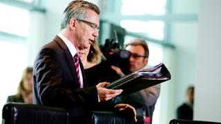 Thomas de Maizière am 22.5.2013