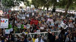 """Fridays for Future""-Demonstration in London"