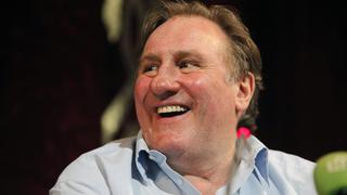 Gérard Depardieu in Grosny
