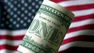 US-Dollar vor US-Flagge