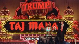 Donald Trump im Taj Mahal Kasino Atlantic City