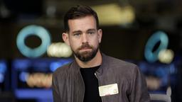 Twitter-Mitgründer Jack Dorsey wird in New York interviewt.