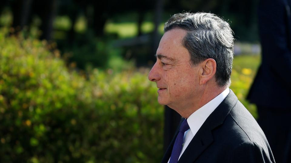 EZB-Chef Draghi in Sintra | Bildquelle: REUTERS