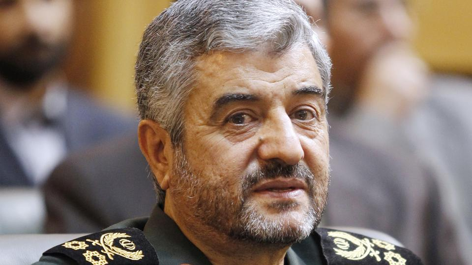Der Chef der Revolutionsgarden, Dschafari (Archivbild) | Bildquelle: picture alliance / Newscom