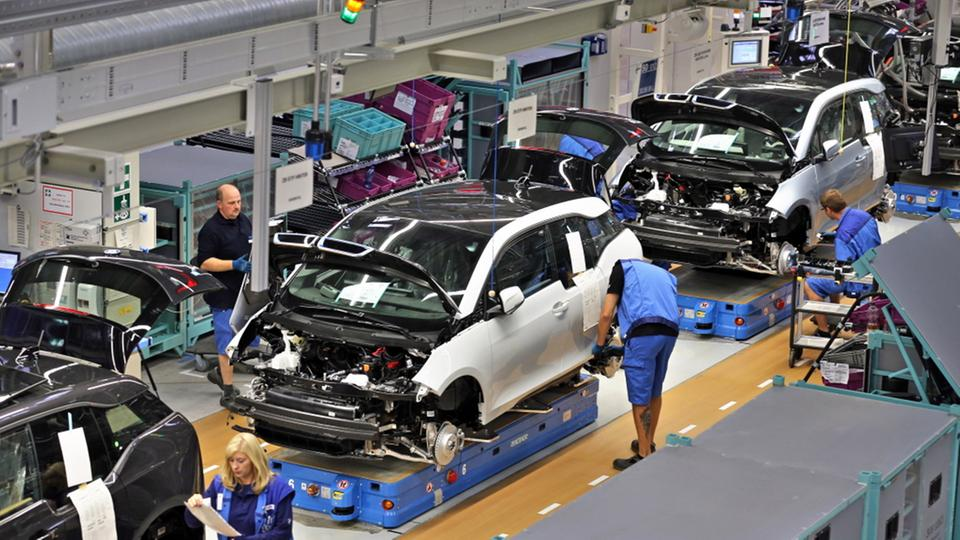 Produktion des BMW i3 in Leipzig