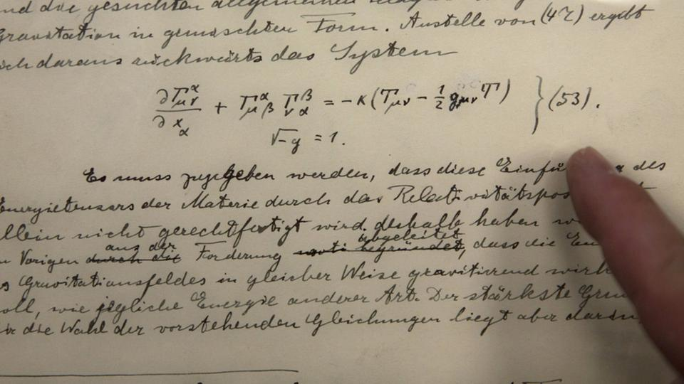 Einsteins Notizen zu den Gravitationswellen