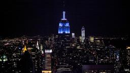 Das Empire State Building in New York