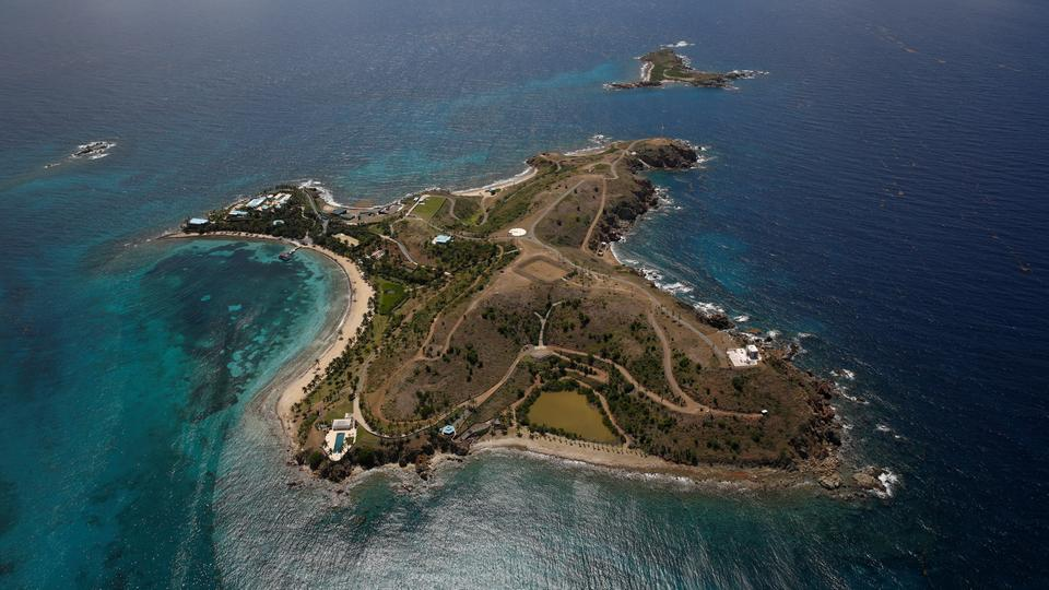 Little St. James Island, die Privatinsel Epsteins in den U.S. Virgin Islands. | Bildquelle: REUTERS