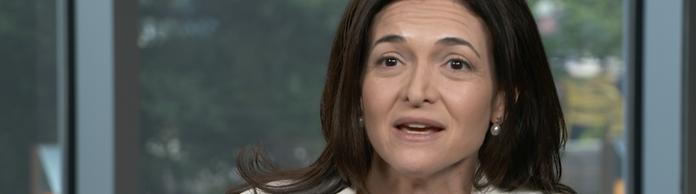 Sheryl Sandberg, Co-Chefin von Facebook (Screenshot)
