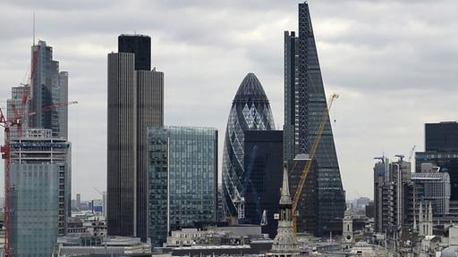 Finanzviertel in London | Bildquelle: dpa