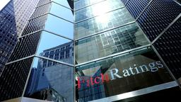 Das Büro der Ratingagentur Fitch in New York