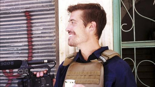Der getötete US-Journalist James Foley