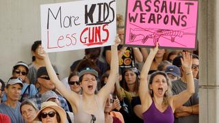 Anti-Waffen-Demo in Fort Lauderdale | Bildquelle: REUTERS