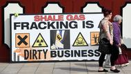 Proteste gegen ein Fracking-Projekt in Preston New Road