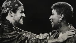 Aretha Franklin und George Michael