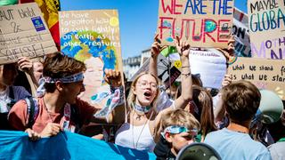 "Klimademonstration ""Fridays for Future"" in Aachen (Archivbild vom 21.06.2019) 