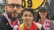 AS-Monaco-Fan Stéphane Vadez und seine Kinder