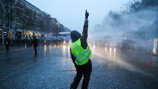 """Gelbwesten""-Protest in Paris 