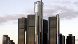 Die Konzernzentrale von General Motors in Detroit