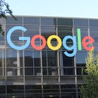 Google-Logo an der Konzernzentrale in Mountain View |