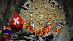 Gotthard-Tunnel
