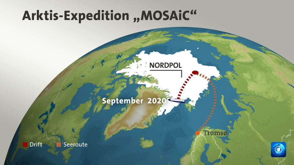 "Grafik: Arktis-Expedition ""Mosaic"""