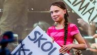 Greta Thunberg demonstriert in New York.