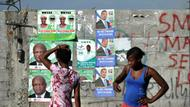 Wahlplakate in Port-au-Prince