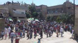 Proteste in Hama