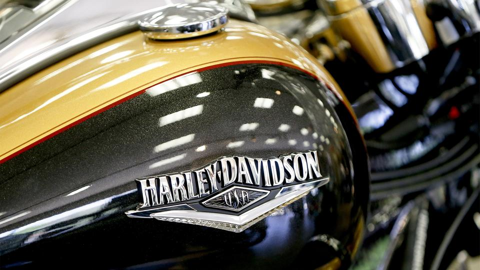 Kraftstofftank einer  2017 Harley-Davidson Road King FLHR | Bildquelle: picture alliance/AP Photo