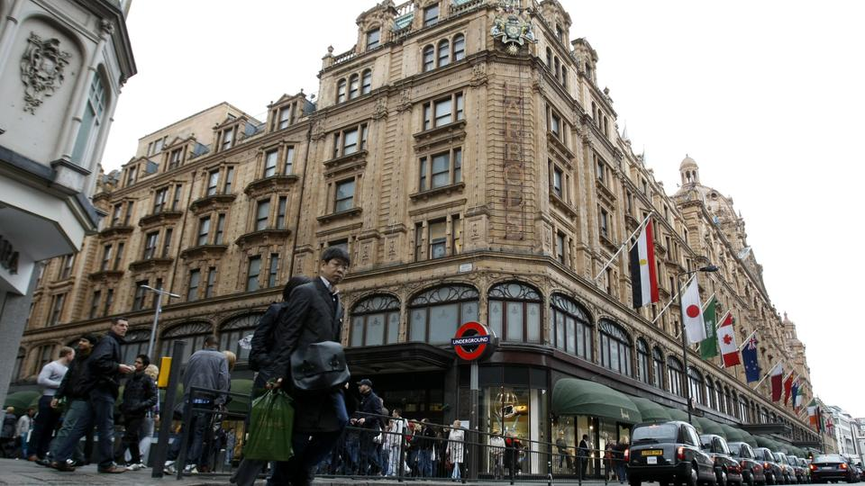 Das Luxuskaufhaus Harrod's in London | Bildquelle: AP