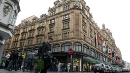 Das Luxuskaufhaus Harrod's in London