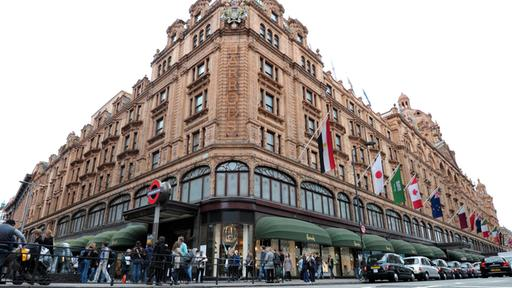 Das Kaufhaus Harrods an der Knightsbridge in London | AFP