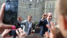 Harry und William in Windsor