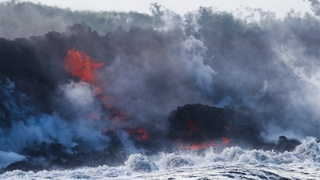 Kilauea Vulkan in Hawaii | Bildquelle: AP