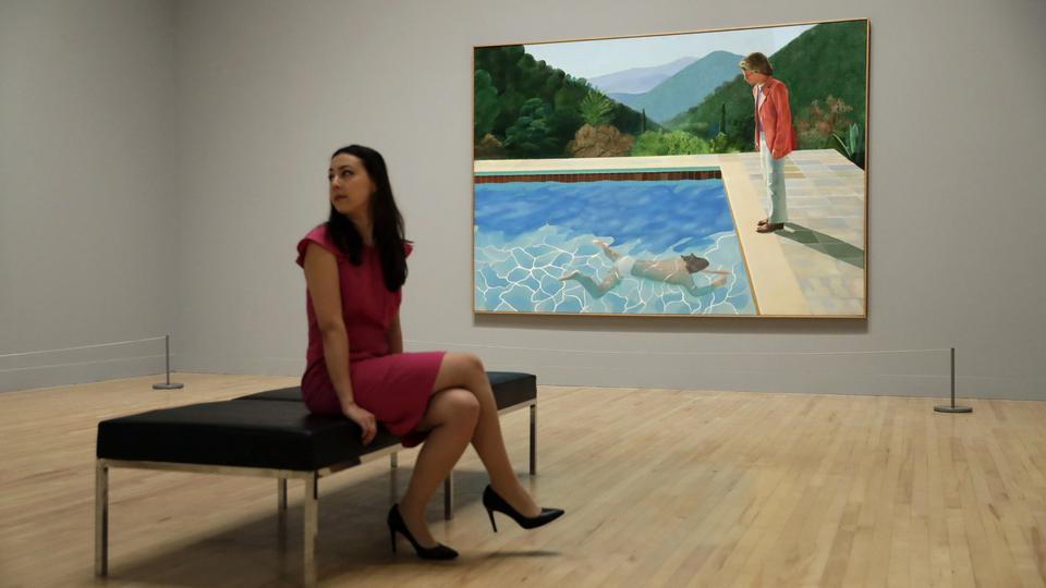 Portrait of an Artist (Pool with two Figures) von Hockney | Bildquelle: AP