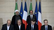 Hollande und Rouhani in Paris