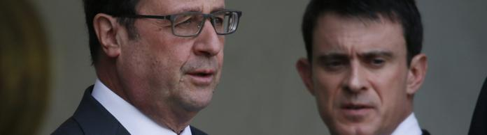 Hollande und Valls | Bildquelle: REUTERS