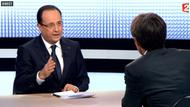 Hollande im TV-Interview