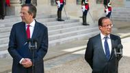 Hollande und Samaras in Paris