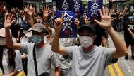 Pro-Demokratie-Demonstranten in Hongkong